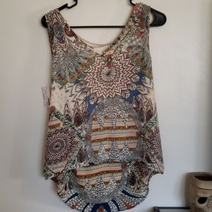 Paisley thin top